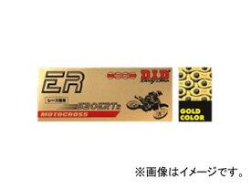 2輪 D.I.D EXCLUSIVE RACING ノンシールチェーン ゴールド 114L ヤマハ YZ250F