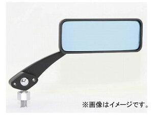 2輪 タナックス ボールジョイントミラー(角) ブラック/ブルー鏡 10mm正ネジ 左右共通 AMB-104-10