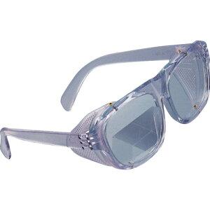 トーヨーセフティー 側板付き防じんメガネ 強化ガラスレンズ付き No.1350