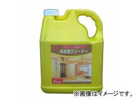 友和/YUWA 白木専用汚れ落とし 木材用クリーナー 4L 入数:4個