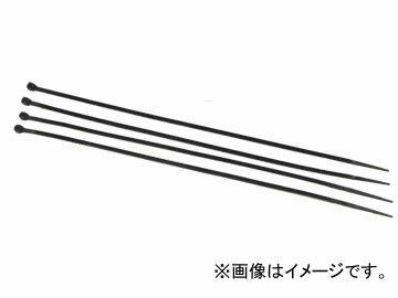 AP 結束バンド(ケーブルタイ) ブラック 4.8mm×250mm AP-CT250‐4.8‐B 入数:100本