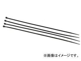 AP 結束バンド(ケーブルタイ) ブラック 3.6mm×200mm AP-CT200‐3.6‐B 入数:100本