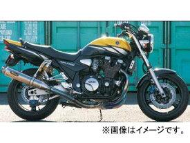 2輪 ノジマ マフラー FASARM PRO TITAN TYPESC NMTX215VZ ヤマハ XJR1300/1200 〜2006年