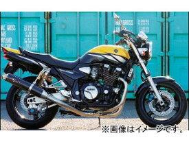 2輪 ノジマ マフラー FASARM S TITAN TYPE-SC NTX215VC ヤマハ XJR1300/1200 〜2006年