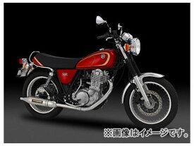 2輪 ヨシムラ マフラー スリップオン サイクロン PATRIOT 110-357-5T80B STB(チタンブルーカバー) ヤマハ SR400 FI 2010年