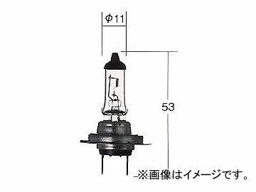 トヨタ/タクティー/TACTI ハロゲンヘッドランプバルブ ホワイトビームIII H7ハードケース 12V 55W(100W相当) 口金:PX26d V9119-3040
