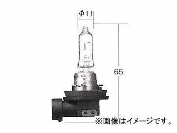 トヨタ/タクティー/TACTI ハロゲンヘッドランプバルブ ホワイトビームIII H9 12V 65W(120W相当) 口金:PGJ19-5 V9119-3054