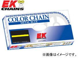 2輪 EK/江沼チヱン シールチェーン QXリング メタルブルー 525SRX2(AB,NP) 116L 継手:MLJ BMW F800GS