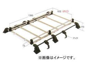ロッキー ルーフキャリア SEシリーズ 6本脚 専用タイプ SE-333PT ホンダ/本田/HONDA パートナー バン EY系 H8.3〜H18.3