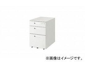 ナイキ/NAIKI リンカー/LINKER トリアス ワゴン 3段・ダイヤル錠 ホワイト TRH046XCD-HH 395×580×611mm