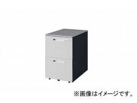 ナイキ/NAIKI リンカー/LINKER トリアス ワゴン 2段・ダイヤル錠 シルバー TRH046YCD-SVD 395×580×611mm