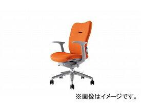 ナイキ/NAIKI リンカー/LINKER エネア 事務用チェアー オレンジ ZE511F-OR 620×590×900〜985mm