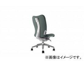 ナイキ/NAIKI リンカー/LINKER エネア 事務用チェアー グレー ZE510F-GL 615×590×900〜985mm