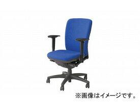 ナイキ/NAIKI ネオス/NEOS フィーモ 事務用チェアー ME型 グリーン ME513AFN-BL 629〜711×585×910〜980mm