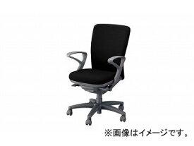 ナイキ/NAIKI ネオス/NEOS フィーモ 事務用チェアー ME型 ローズ ME513F-BK 620×592×910〜980mm