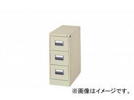 ナイキ/NAIKI カードキャビネット 1列-3段 ライトグレー A5-13-LG 302×620×740mm