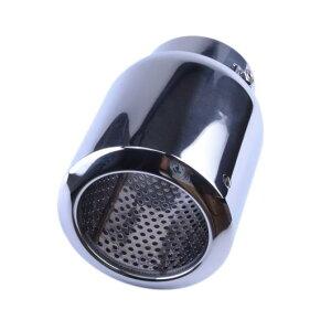 AL 汎用マフラーチップ マフラーカッター ステンレス スチール エキゾースト パイプ テール AL-AA-9235