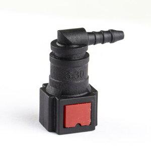 AL 自動車 フューエル ライン コネクタ 尿素水 チューブ コネクタ 6.30-ID3 L形 AL-HH-2254