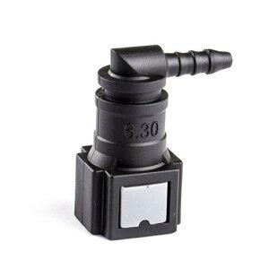 AL 尿素水 1/4 6.30 ID3 90 フューエル インジェクター メス L形 コネクタ 適用: ナイロン パイプ ラバー パイプ AL-HH-2259