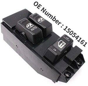 AL 電動 パワー ウインドウ スイッチ 15054161 適用: 2000 2001 2002 GMC シエラ 1500 2500 3500 ピックアップ 2ドア 交換 AL-LL-4361