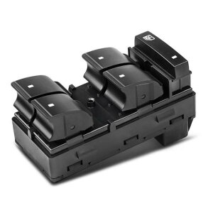 AL 電動 パワー ドライバ サイド ウインドウ スイッチ 20945129 25789692 25951963 適用: シボレー/CHEVROLET シルバラード GMC シエラ 4ドア AL-LL-4393