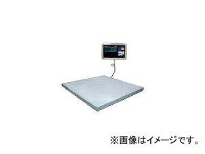 大和製衡/YAMATO 超薄形デジタル台はかり PL-MLC9 2t 1500×1500 PLMLC92.01515