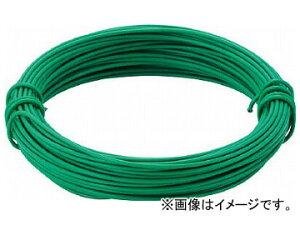 トラスコ中山/TRUSCO カラー針金 小巻タイプ・20番手 緑 線径0.9mm TCWS09GN(2825244) JAN:4989999276206