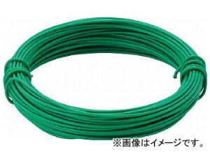 トラスコ中山/TRUSCO カラー針金 小巻タイプ・18番手 緑 線径1.2mm TCWS12GN(2825236) JAN:4989999276190