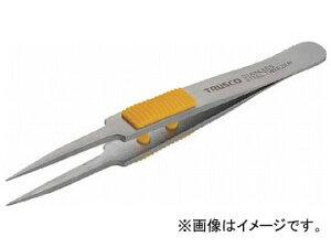トラスコ中山/TRUSCO ラバーグリップ付ステンレスピンセット 115mm 極細鋭型 TSP214(2997410) JAN:4989999393620