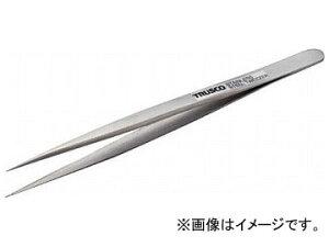 トラスコ中山/TRUSCO 高精度ステンレス製ピンセット 140mm 非磁性 長極細型 TSP76(2709261) JAN:4989999211825
