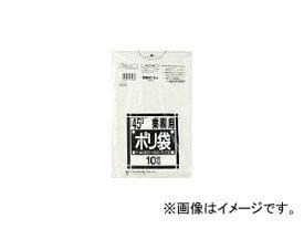 日本サニパック/SANIPAK N-43Nシリーズ45L透明 10枚 N43CL(3754715) JAN:4902393264808