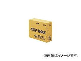 日本サニパック/SANIPAK E-44エコノプラスBOX45L半透明 100枚 E44HCL(4079922) JAN:4902393204446