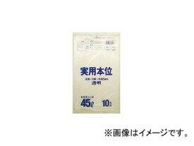 日本サニパック/SANIPAK 業務用実用本位 45L透明 NJ43(3357198) JAN:4902393316439