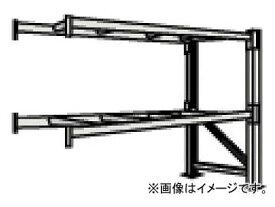 トラスコ中山/TRUSCO 重量パレット棚1トン2300×900×H2500連結 2段 1D25B23092B