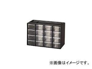 アイリスオーヤマ/IRISOHYAMA パーツ収納 パーツキャビネット PC-30 ブラック PC30BK(3053806) JAN:4905009383177