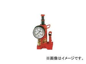 マサダ製作所/MASADA ゲージ付油圧ジャッキ 15TON MH15P(3956512) JAN:4944015314157