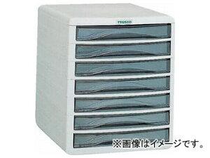 トラスコ中山/TRUSCO プラスチックレターケース A4浅型タイプ 7段 PA4S7(0000779) JAN:4989999771671