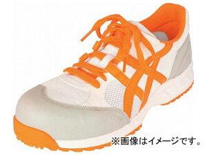 アシックス ウィンジョブ33L ホワイト×オレンジ 29.0cm FIS33L.0109-29.0(7519028)