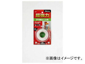 ニトムズ 超強力両面テープ 塩化ビニル用15×2 T4580(4977912)