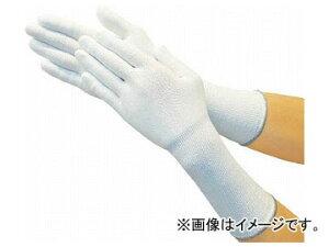 トラスコ中山 ホワイトHPPEインナー手袋ロング S TGL-5100KL-S(7708238)