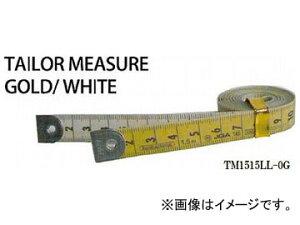 プロマート テーラーメジャー1.5m 0点 白/ゴールド TM1515LL-0G(4958390)