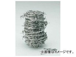 トラスコ中山 有刺鉄線 ステンレス 1.6mm×100m TSUW-16-100(7592981)