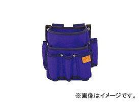タジマ プロマックス 電工腰袋(2段/工具差し付)バイオレットブルー PM-DE2KB(8134588)