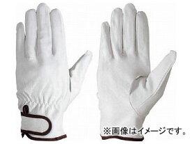 シモン 豚本革手袋マジック式717豚白M 4133981(7895089)