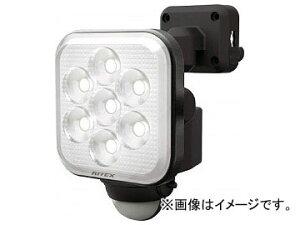 ムサシ 8W×1灯 フリーアーム式LEDセンサーライト LED-AC1008(8188772)