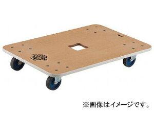 トラスコ中山 木製平台車 ジュピター 900×600 φ100 400kg JUP-900-400(8194970)
