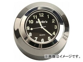 2輪 ヤザワ マーリンズ ステムナットマウントタイプ(温度計) MC-170212 ブラック 58×38mm Vロッド ハーレーダビッドソン ソフテイル JAN:4580219053562