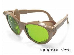 理研オプテック/RIKEN 遮光めがね 二眼式 アイボリー R-8 ガラス(SOLIDA)