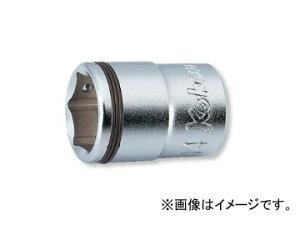 """コーケン/Koken 3/8""""(9.5mm) ナットグリップソケット 3450M-22"""
