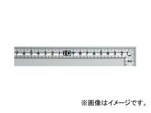 シンワ測定 曲尺小型 溝付 ステン 30×15cm 裏面角目 12017 JAN:4960910120174